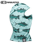 【10%OFF】18-19AIRBLASTER エアブラスター Merino Ninja Face Mint Fish バラクラバ