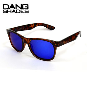 15%OFF DANG SHADES ダンシェイディーズ LOCO Light Tortoise X Blue Mirror Polarized(偏光レンズ)