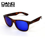 10%OFF DANG SHADES ダンシェイディーズ LOCO Light Tortoise X Blue Mirror Polarized(偏光レンズ)