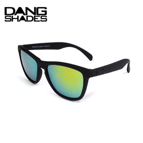 10%OFF DANG SHADES ダンシェイディーズORIGINAL RAISED Black soft x Gold Mirror