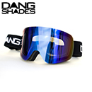 40%OFF DANG SNOW TWENTY20 BLACK×Ultra Blue Mirror ゴーグル DANG SHADES
