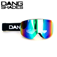 完売 DANG SNOW TWENTY20 BLACK×Xtream GREEN ゴーグル DANG SHADES