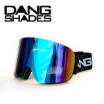35%OFF DANG SNOW TWENTY20 BLACK×Xtream GREEN ゴーグル DANG SHADES