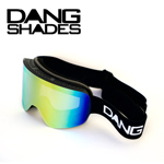 35%OFF DANG SNOW TWENTY20 BLACK×Classic Fire Mirror ゴーグル DANG SHADES
