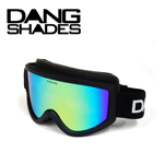 35%OFF DANG SNOW ホワイト Matt Black Frame×Green Mirror Lens ゴーグル DANG SHADES